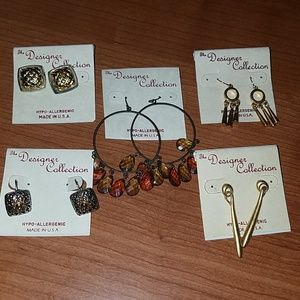 The Designer Collection Bundle of Pierced Earrings